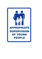 Appropriate supervision of young people